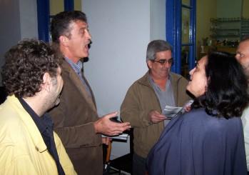 2010/10/27: Ο Ηλ. Γεωργαλής και ο υποψήφιος αντιπεριφερειάρχης Αιτωλοακαρνανίας Κ. Κούστας κατά την περιοδεία στον Αστακό.