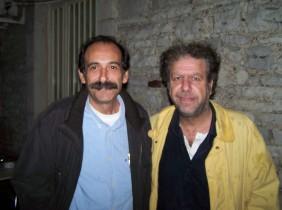 2010/10/27: Ο Βασίλης Χατζηλάμπρου με τον υποψήφιο δήμαρχο της Κίνησης Πολιτών Ξηρόμερου Ηλία Γεωργαλή.
