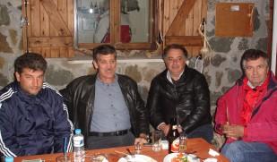 2010/10/30: Ο Κ. Κούστας στη Γιορτή του Τσίπουρου στη Λεύκα.