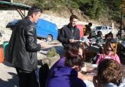 2010/10/30: Ο υποψήφιος αντιπεριεφερειάρχης Αιτωλοακαρνανίας Κ. Κούστας και ο υποψήφιος Π. Σφυρής στην περιοδεία στην Ορεινή Ναυπακτία.