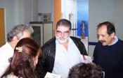 2010/11/03: Θερμό το κλίμα που συνάντησε η αντιπροσωπεία της Αντίστασης Πολιτών στο Νοσημάτων Θώρακος, όπου ο υποψήφιος αντιπεριφερειάρχης Αχαΐας Γ. Λύχρος διετέλεσε διευθυντής.