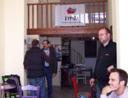 2012/11/03: Ο Β. Χατζηλαμπρου με συντροφους στα γραφεια του ΣΥΡΙΖΑ-ΕΚΜ στα Καλαβρυτα