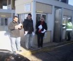 2013/01/06: Απο την κινητοποιηση του «Διοδια STOP», στο Ριο, εναντια στη βιομηχανια αγωγων των εργολαβων