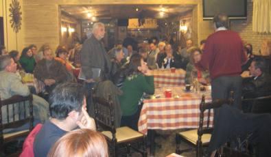 2013/02/03: Απο την ανοιχτη συνελευση του ΣΥΡΙΖΑ-ΕΚΜ στο Λογγο Αιγιου