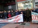 2013/02/13 : Απο την κινητοποιηση των εργαζομενων στα Ελληνικα Αμυντικα Συστηματα (ΕΒΟ-ΠΥΡΚΑΛ) στο Γενικο Λογιστηριο του Κρατους