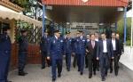 2013/04/04: Στιγμιοτυπο απο την επισκεψη στο Αρχηγειο Τακτικης Αεροπορίας (ΑΤΑ) στη Λαρισα