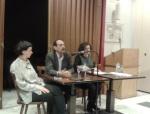 """2013/04/15: Ο Β. Χατζηλαμπρου και η Ν. Βαλαβανη στην εκδηλωση του ΣΥΡΙΖΑ-ΕΚΜ στο Βερολινο με θεμα """"Μετα την Κυπρο, τι;"""""""