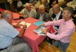 """2013/05/17: Στιγμιοτυπο απο την παρουσιαση του βιβλιου του Γ. Μοσχου """"Η Πατρα στην Κατοχη και την Αντισταση"""" στην Αγορα Αργυρη"""
