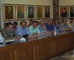 2013/06/04: Απο τη συσκεψη της Επιτροπης Περιβαλλοντος της Βουλης με φορεις στον Πυργο, με θεμα τις πυροπληκτες περιοχες