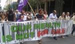 2013/06/07: «Η υγεια μας δεν ειναι προς πωληση» - Ο Β. Χατζηλαμπρου στο μπλοκ του Alter Summit κατα το πανυγειονομικο συλλαλητηριο