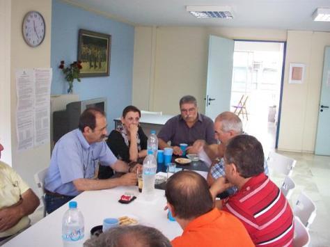 2013/07/06: Απο τη συναντηση των βουλευτων του ΣΥΡΙΖΑ Αχαϊας με την Επιτροπη Κατοικων της Ξερολακκας