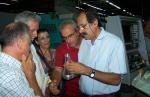 2013/09/13: Απο την επισκεψη του κλιμακιου του ΣΥΡΙΖΑ στα τμηματα παραγωγης των Ελληνικων Αμυντικων Συστηματων Αιγιου