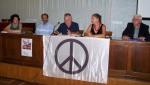 """2013/09/18: Απο την παρουσιαση του βιβλιου του Π. Τριγαζη """"Ο Λαμπρακης και το κινημα Ειρηνης"""" στον Πυργο"""