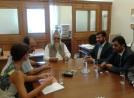 2013/09/20: Απο τη συναντηση στη Βουλη με τον καθηγητή Sajid Mir και εκπροσωπους της Πακιστανικης Κοινοτητας Ελλαδας