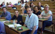 2013/09/23: Β. Χατζηλαμπρου και Μ. Κανελλοπουλου στη συσκεψη των εργαζομενων του Πανεπιστημιου Πατρων για τις διαθεσιμοτητες