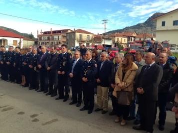 2013/11/29: Στιγμιοτυπο απο τα εγκαινια του Πυροσβεστικου Σταθμου Καλαβρυτων