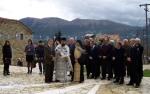 2013/12/01: Απο την εκδηλωση μνημης για τους πεσοντες στο Σκεπαστο Καλαβρυτων απο τα γερμανικα στρατευματα κατοχης