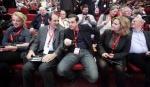 2013/12/13: Ρ. Δουρου, Β. Χατζηλαμπρου και Αλ. Τσιπρας κατα τις εργασιες του 4ου συνεδριου του Κομματος Ευρωπαϊκης Αριστερας στη Μαδριτη