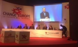 2013/12/13: Ο αντιπροεδρος της Βολιβιας Alvaro Garcia Linera μιλα στο 4ο συνεδριο του Κομματος Ευρωπαϊκης Αριστερας στη Μαδριτη