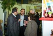 2014/02/17: Απο την επισκεψη του Β. Χατζηλαμπρου και κλιμακιου του ΣΥΡΙΖΑ Ηλειας στην αγροτικη εκθεση της Αμαλιαδας