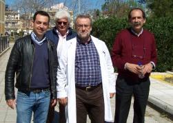 """2014/03/21: Στιγμιοτυπο απο την περιοδεια στο νοσοκομειο """"Αγιος Ανδρεας"""" της Πατρας"""