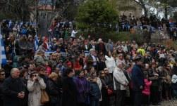 2014/03/25: Ο Β. Χατζηλαμπρου στην Αναπαρασταση, στη μονη Αγιας Λαυρας, στα Καλαβρυτα