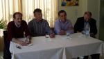 2014/03/29: Απο τη συνεντευξη Τυπου στη Ναυπακτο: Β. Χατζηλαμπρου, Κ. Κουστας, Δ. Δουρος, Ν. Δημητροπουλος