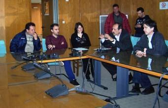 2014/04/01: Απο τη συναντηση με το σωματειο εργαζομενων ΠΕ Ηλειας και το συντονιστικο των 5μηνιτων εργαζομενων στην Περιφερεια