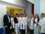 2014/04/02: Απο την επισκεψη στο απειλουμενο με κλεισιμο νοσοκομειο Νοσηματων Θωρακος