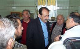 2014/04/03: Απο την επισκεψη στο Κεντρο Υγειας Αμφιλοχιας