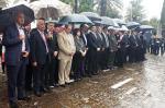 2014/04/13: Ο Β. Χατζηλαμπρου στον Κηπο των Ηρωων στο Μεσολογγι κατα τη δευτερη ημερα των εορτων της Εξοδου