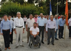 2014/07/17: Απο την εκδηλωση μνημης για τους Αχαιους πεσοντες στην Κυπρο που πραγματοποιηθηκε στο ΚΕΤχ