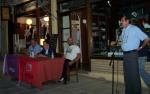 2014/08/30: Ο Β. Χατζηλαμπρου μιλα στην εκδηλωση του ΣΥΡΙΖΑ Καλαβρυτων με κεντρικο ομιλητη τον Π. Λαφαζανη