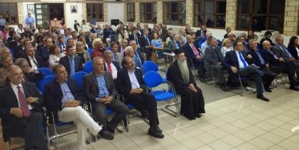 2014/09/19: Στην εναρξη των εργασιων της Ολομελειας των προεδρων των Δικηγορικων Συλλογων Ελλαδας παρευρεθηκε ο Β. Χατζηλαμπρου