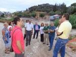 2014/09/02: Ο Β. Χατζηλαμπρου κατα την ενημερωτικη επισκεψη που πραγματοποιησε ο ΣΥΡΙΖΑ στο εργο της μινι περιμετρικης
