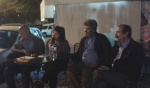 2014/10/20: Με τους βουλευτες Δ. Κοδελα (αριστερα) και Εφη Γεωργοπουλου-Σαλταρη στην περιοδεια για την παρουσιαση του προγραμματος του ΣΥΡΙΖΑ στην Ηλεια