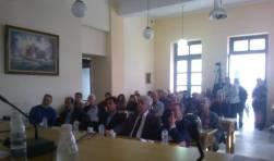2014/11/09: Απο την εκδηλωση της δημοτικης παραταξης ΑΚΙΔΑ, στην Κ. Αχαγια, για τη διαχειριση των απορριμματων