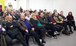 2014/11/26: Στιγμιοτυπο απο την παρουσιαση του προγραμματος Υγειας του ΣΥΡΙΖΑ στην Αχαϊα