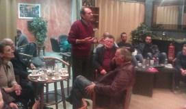 2014/12/12: Στιγμιοτυπο απο τη συζητηση που ολοκληρωσε την περιοδεια του ΣΥΡΙΖΑ Δυτικης Αχαϊας στο Λαππα