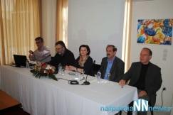 2015/03/15: Απο την παρουσιαση που οργανωσε η Αντισταση Πολιτων στη Ναυπακτο για το βιβλιο του Σπ. Τζοκα