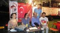 2015/06/21: Με νεολαιους απο την τουρκικη αριστερα στο φεστιβαλ Resistance 2015
