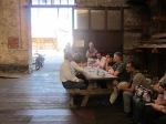 2012/06/08: Από τη συνάντηση με εργαζόμενους στο εργοστάσιο της ΑΒΕΞ.