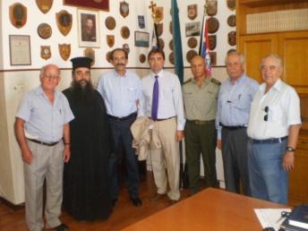 2012/07/11: Από την εκδήλωση μνήμης για τους Αχαιούς πεσόντες στην Κύπρο, που πραγματοποιήθηκε στο ΚΕΤχ.