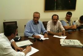 2012/08/01: Συνάντηση των βουλευτών της Επιτροπής Άμυνας του ΣΥΡΙΖΑ-ΕΚΜ με εκπροσώπους του ΣΥΣΜΕΔ στη Βουλή