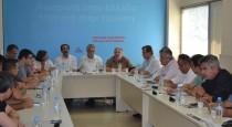 2012/08/30: Από τη σύσκεψη του Τμήματος Εξωτερικής Πολιτικής και Άμυνας με το ΣΥΣΜΕΔ.