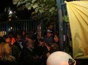 2013/11/09: Στιγμιοτυπο απο την απωθηση των βουλευτων του ΣΥΡΙΖΑ απο τα ΜΑΤ στην ΕΡΤ. Διακρινονται: Ζ. Κωνσταντοπουλου, Π. Κουρουπλής, Β. Χατζηλαμπρου, Δ. Στρατουλης