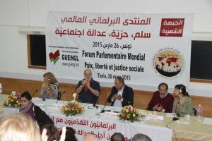 Ο Β. Χατζηλάμπρου στο πάνελ του Παγκόσμιου Κοινοβουλευτικού Φόρουμ στην Τυνησία, στις θεματικές του οποίου συμμετείχαν βουλευτές από όλον τον κόσμο